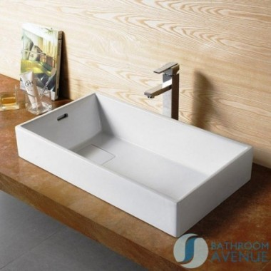 Designer Counter Top Basin Rectangular Nicoletta