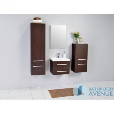 Wenge contemporary vanity unit 2 drawer Francesca