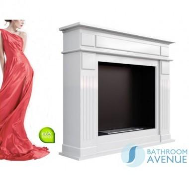 Traditional freestanding bioethanol fireplace NOV