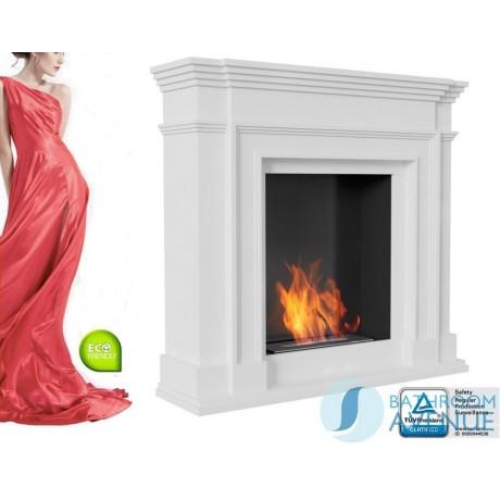 Traditional freestanding bioethanol fireplace LGN